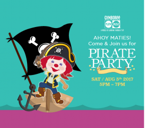 PIRATES PARTY - THE MOST MOMERABLE EVENT EVER