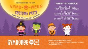 JOIN US FOR A FUN GYMBOWEEN PARTY!!!