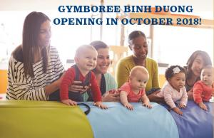 Gymboree Play & Music coming to BINH DUONG this October!