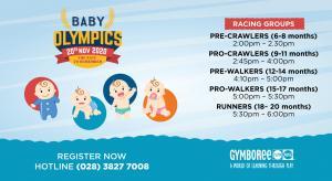 BABY OLYMPICS (November 2020)